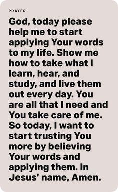 Prayer Quotes, Bible Verses Quotes, Encouragement Quotes, Spiritual Quotes, Faith Quotes, Life Quotes, Spiritual Wellness, Qoutes, Prayer For Studying