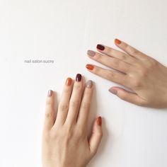 The Best Nail Art Designs – Your Beautiful Nails Stylish Nails, Trendy Nails, Cute Nails, Korean Nail Art, Korean Nails, Minimalist Nails, Hair And Nails, My Nails, Nail Color Combinations