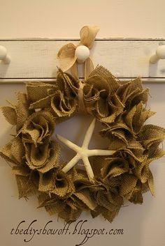 DIY Show Off ~ Super Easy Burlap Wreath TutorialDIY Show Off ™ – DIY Decorating and Home Improvement Blog