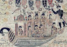 N e e d l e p r i n t: 40 Superb Bengali Quilts (Kanthas) on Exhibit * 12 December '09 - 25 July '10 * Perelman Building, Philadephia Museum of Art