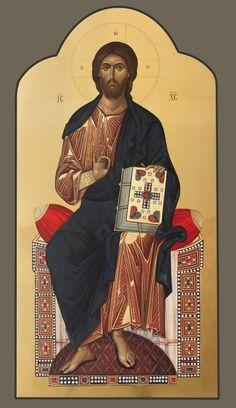 Byzantine Icons, Orthodox Icons, Fresco, Jesus Christ, Worship, Christianity, Religion, Lord, Pictures
