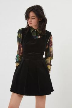 Fête Impériale Amelie Velvet Dress Autumn Fashion Women Fall Outfits 46b3a23c786
