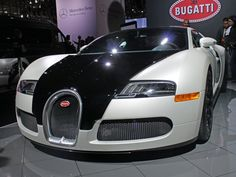 Bugatti Veyron. Will cost more than the GDP of a developing country.