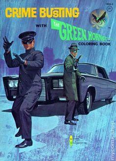 Libro para colorear de El Avispón Verde (The Green Hornet)