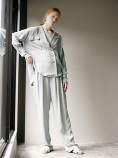 STAIR 2019年プレスプリング / クルーズコレクション Spring Collection, Shirt Blouses, Catwalk, Duster Coat, Ready To Wear, Stairs, Street Style, Blazer, Lady