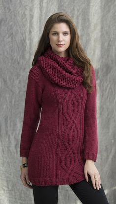 Wine Country Tunic & Cowl in ARIA http://tahkistacycharles.com/t/pattern_single?products_id=2089