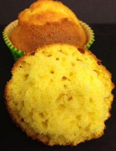 el panadero errante: Magdalenas de mantequilla y naranja. Mirad esas magdalenas!!!