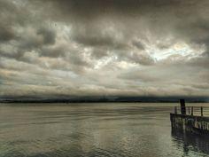 La bahía esta tarde