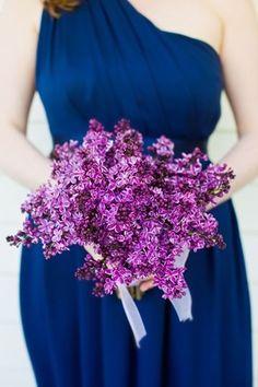 Beautiful lilac bouquet Photo from http://www.watson-studios.com/ via Revel blog