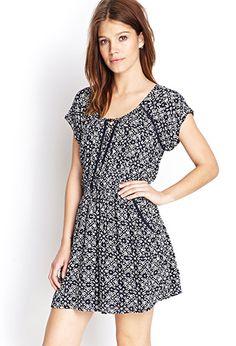 Tribal Print Pocket Dress | Forever21 - 2000123043