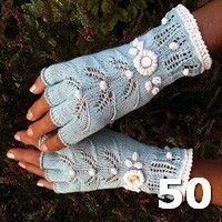 How To Crochet Gloves With Fingers Fingerless Mittens 26 Ideas Fingerless Gloves Knitted, Crochet Gloves, Knit Mittens, Knit Crochet, Lace Knitting, Knitting Stitches, Knitting Patterns, Crochet Patterns, Mittens Pattern