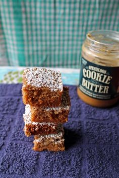 Gooey Cookie Butter Bars