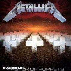 @Regrann from @culturizando -  El 26 de febrero de 1985 el grupo de thrash metal #Metallica graba el disco #MasterOfPuppets  tercer álbum de la banda  fue lanzado al mercado el 3 de marzo de 1986 bajo el sello de Elektra Records alcanzando el puesto 29 en el Billboard 200. El álbum fue el primer disco de oro de la banda tras vender 500.000 copias en Estados Unidos aunque luego superaría las 6 millones.  Master of Puppets es el último álbum de Metallica en el que participa el bajista Cliff…