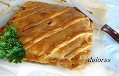 Aprende a hacer la masa de una empanada gallega y rellénala luego de bacalao