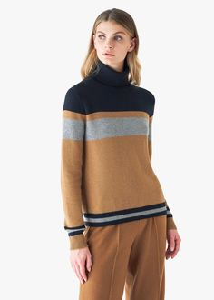 Trench Dress, Trench Jacket, Scarf Shirt, Striped Turtleneck, Knit Fashion, Online Clothing Stores, Cardigans For Women, Outerwear Jackets, Knitwear