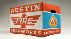 Austin Beerworks - Fire Eagle IPA.  Great design style.