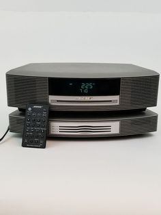 Bose Wave Music System III w/ Multi CD Changer & Remote Am/FM Radio Alarm Gray #Bose Bose, Music System, Remote, Waves, Electronics, Gray, Grey, Ocean Waves, Consumer Electronics