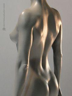 画像5: Female 1:6 Proportional fig v.2- proportion & surface form アナトミーフィギュア 女性 (5)
