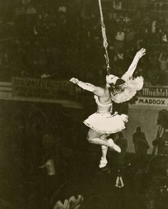 """Conchita was known as the """"Iron Jaw Marvel"""".  She may have been with the Doc Capell Circus."""