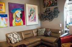 Nothing brings a room together quite like an original piece of art. These would look great in a bedroom or living room. Find them all at Avery Lane in Scottsdale.