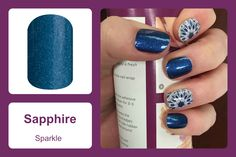 From daily tasks to a black tie event, the deep royal blue and sparkle of 'Sapphire' will keep your mani or pedi looking royal. #bevsjamminnails https://bkimball.jamberry.com/us/en/shop/products/sapphire#.VxfCUfkrJQI