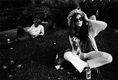 Blues singer Janis Joplin in July 1968 at the Newport Folk Festival in Newport, Rhode Island.