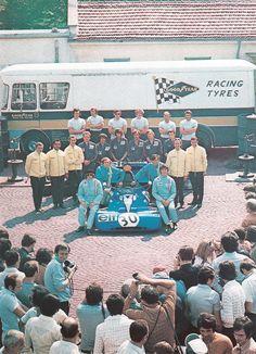 Elf Team Tyrrell - Monza 1971 #2 Francois Cevert - Tyrrell 002 #30 Jackie Stewart - Tyrrell 003