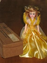 Blue Bonnet Cinderella Vintage Plastic Doll for Sale!