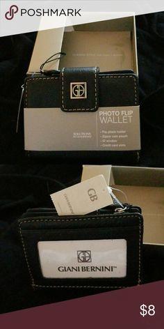 Photo wallet Gianni Bellini photo wallet NWT Giani Bernini Bags Wallets