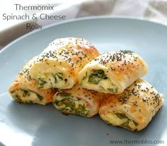 If you thought we couldn't improve on our Spinach and Ricotta Roll recipe, wait until you try these Thermomix Spinach and Cheese Rolls! These Thermomix Spinach and Cheese Rolls really are the ultimate savoury treat Pastry Recipes, Cooking Recipes, Vegetarian Recipes Thermomix, Cooking Ham, Lunch Recipes, Cheese Rolling, Spinach And Cheese, Spinach Ricotta, Spinach Rolls