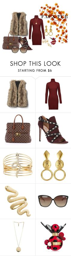 Fabulous by krissel1 on Polyvore featuring moda, A.L.C., Valentino, Louis Vuitton, Charlotte Russe, Givenchy, Linda Farrow and Marc Jacobs