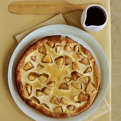 Souffléed Apple Pancake // More Great Apple Recipes: http://www.foodandwine.com/slideshows/apples #foodandwine