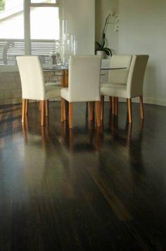 Cypress pine walnut stain hardwax oil osmo saten matt finish floorboards pinterest stains - Cypress floorboards ...