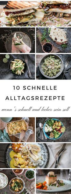 Einfache und beliebte Rezepte für den Alltag Diese Gerichte sind - leichte und schnelle küche
