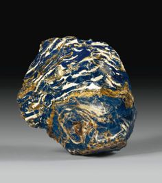 Blue amber block, Dominican Republic, Sotheby's