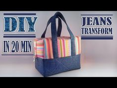 In this video DIY tutorial I show you an easy way to make the handbag by own hands from scratch out of old jeans. ✂ Materials you need to make this DIY jeans. Diy Jeans, Diy Crafts Tv, Diy Bag Designs, Denim Tote Bags, Denim Purse, Potli Bags, Diy Bags Purses, Diy Handbag, Handbag Tutorial