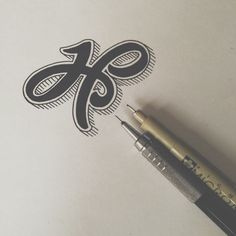H is for hand-lettering