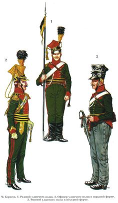 """Estudio foro --- Foro """"Siberia"""": las guerras napoleónicas / Наполеоновские войны --- Tema: Lancer regimiento del ejército austríaco. 1784 -1815."""