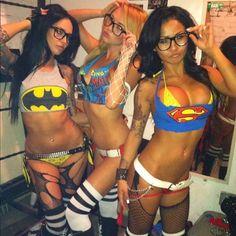 Superhero!!! Kelly. Kim. Let do this. Minus the slut factor... LOL #rave