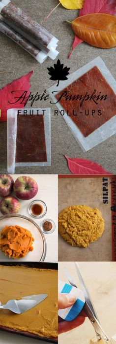 A delicious recipe for autumn-inspired fruit roll-ups…