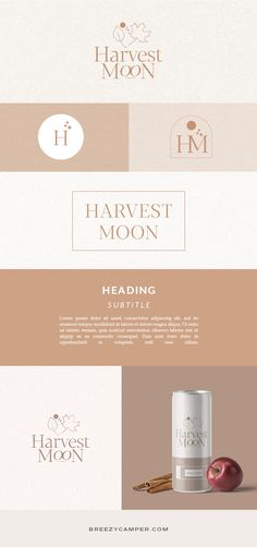 Brand board for autumn and neutral lovers. Minimal logo and brand identity. Ecommerce or product based businesses with an earth color palette. #brandidentity #logoinspiration #logodesign #brandboard Earth Colour Palette, Earth Color, Color Palettes, Brand Identity Design, Branding Design, Packaging Design Inspiration, Brand Inspiration, Modern Web Design, Graphic Design