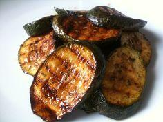 Marinated zucchini for bbq recipe