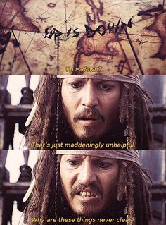 HOLY SHIT JACK SPARROW KNEW ABOUT THE UPSIDE DOWN AND HOW TO GET TO IT CENTURIES…