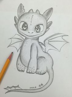 draft toothless from how to train your drag. - pencil draft toothless from how to train your drag. -pencil draft toothless from how to train your drag. - pencil draft toothless from how to train your drag. Disney Drawings Sketches, Cute Disney Drawings, Cute Easy Drawings, Cute Kawaii Drawings, Cool Art Drawings, Animal Drawings, Drawing Sketches, Drawing Ideas, Dragon Drawings