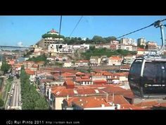 Porto Gaia cable car - fly over the Port district