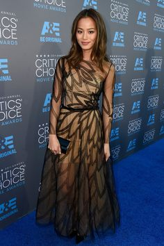 Jamie Chung | All The Looks From the 2015 Critics' Choice Awards