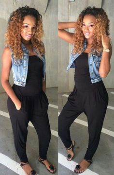 Ombre Hairstyles for Black Women (108)