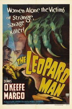 The Man Who From movie | IMP Awards > 1943 Movie Poster Gallery > The Leopard Man Poster