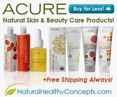 Acure Organics Natural Skin & Beauty Care Products are a favorite!