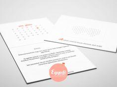Egyszerű, de ötletes esküvői meghívó | Simple, but creative wedding invitation card
